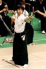 2002年全日本学生弓道選手権大会(於名古屋)